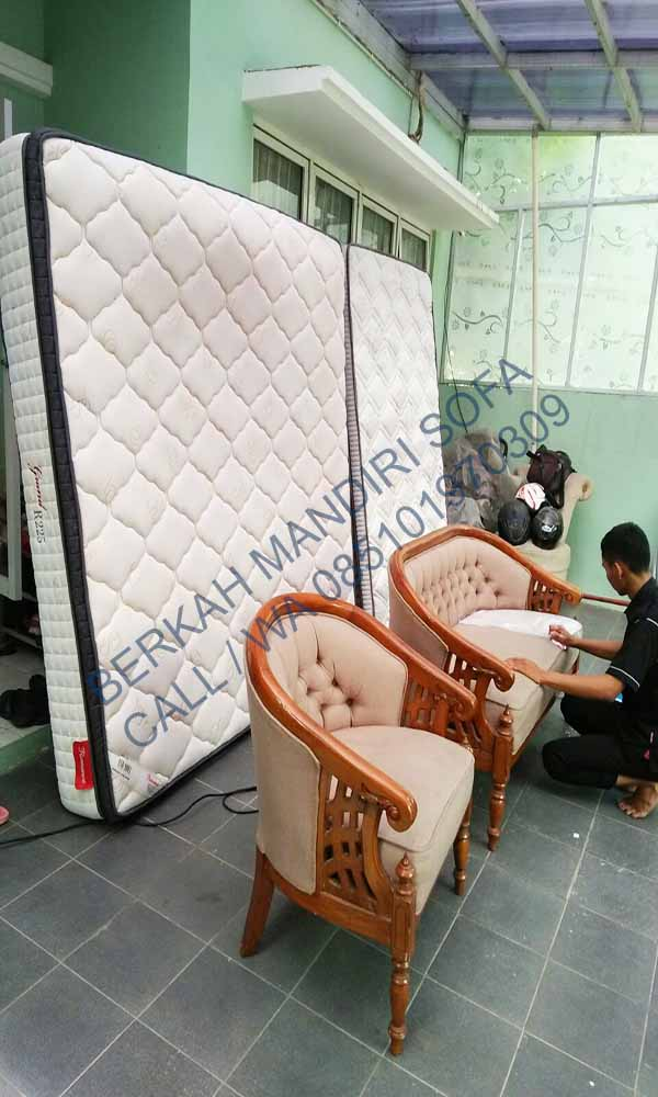 Harga Cuci Spring Bed Rumah Apartemen Utan Panjang Murah