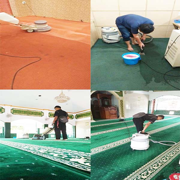 Layanan Cuci Karpet Karet Murah